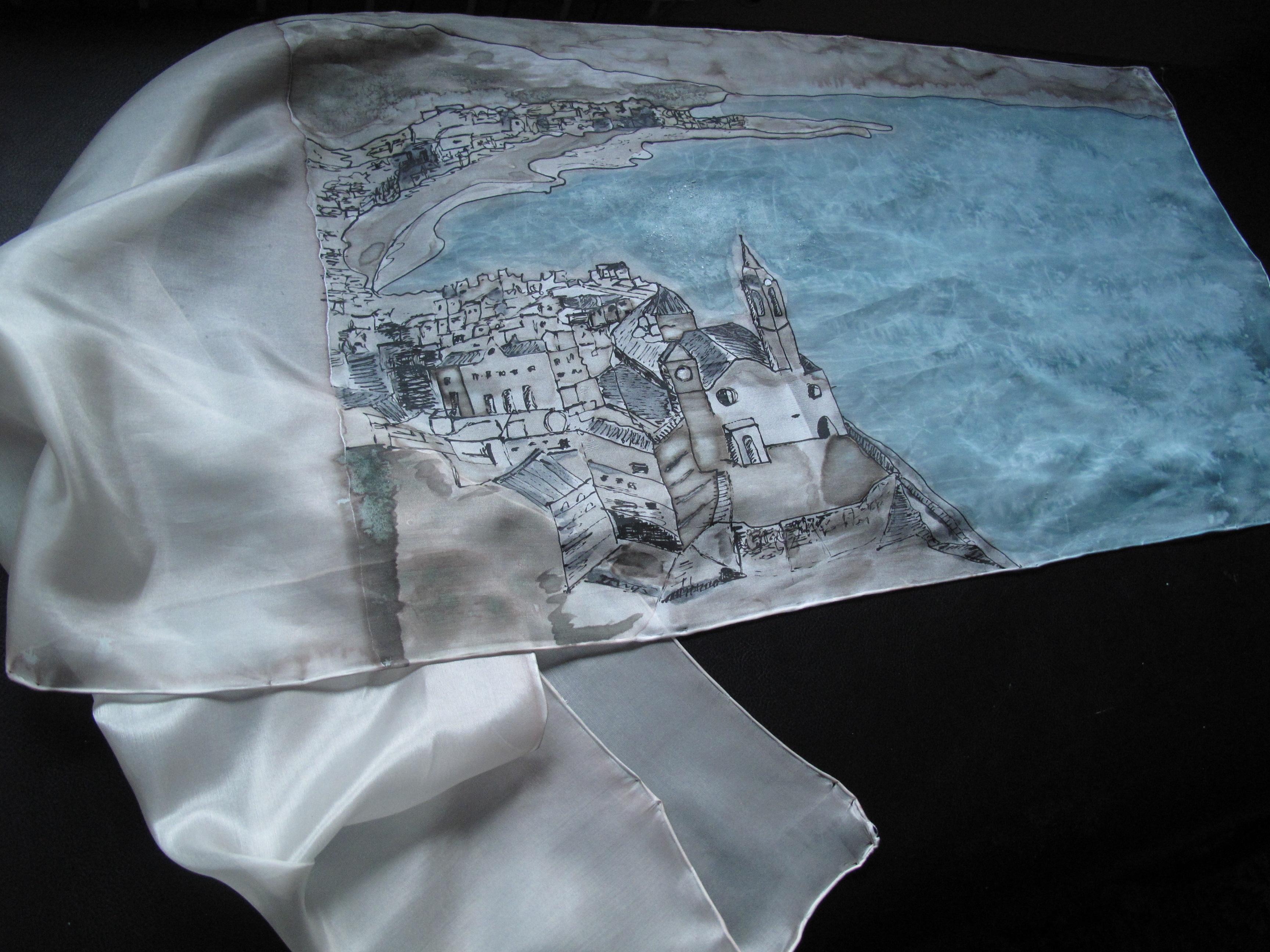 Vista de Sitges . 140 x 45