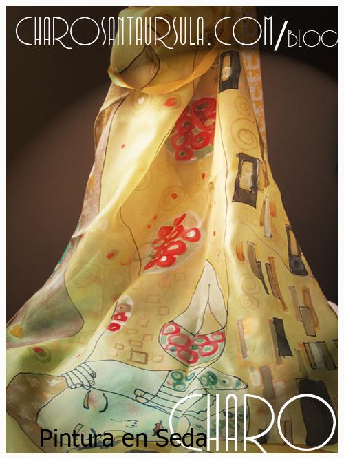 Miedo-Amor. Pintura en Seda