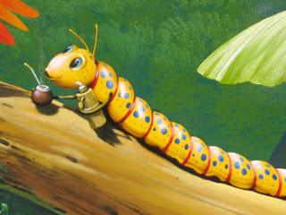 Un cuento: Los 3 gusanos de Seda